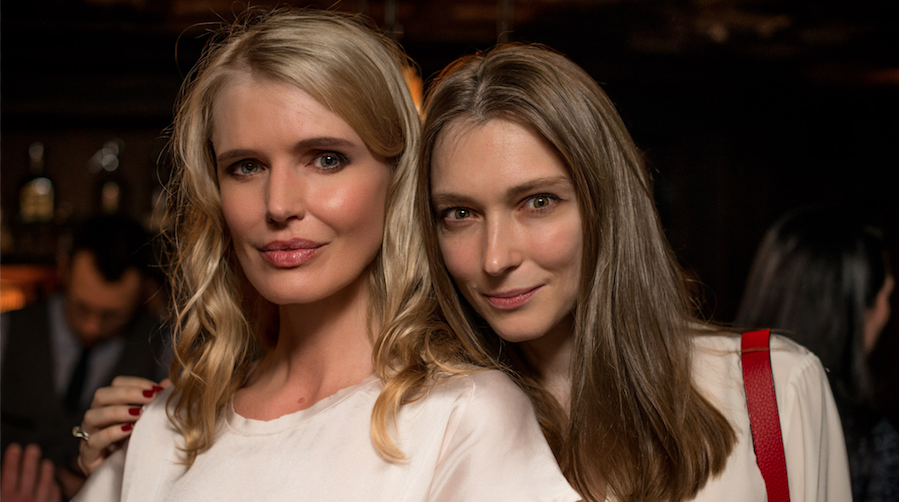 Lana Berglas and Katya Kashyntseva at the Potemkin Gala supported by Fabergé