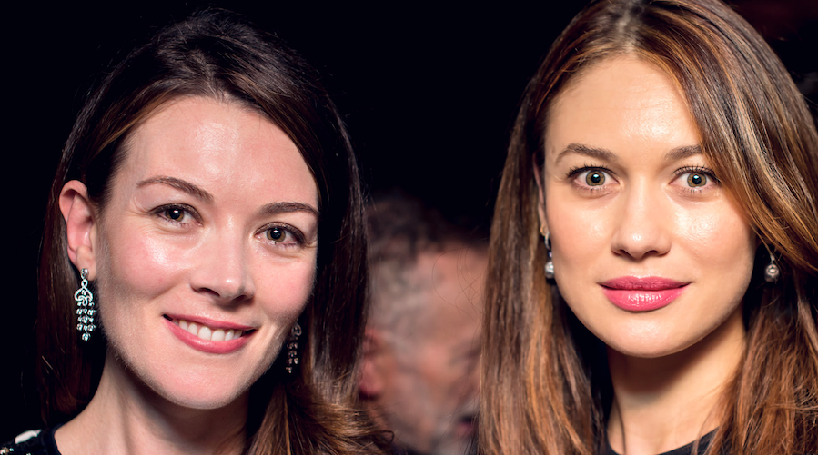 Justine Waddell and Olga Kurylenko at the Potemkin Gala supported by Fabergé