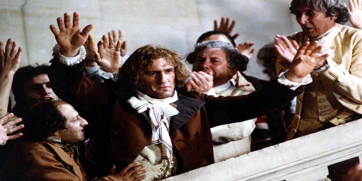 Gerard Depardieu in Andrzej Wajda's Danton
