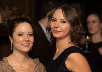 Josina von dem Bussche Kessel and Irina Gorbounova