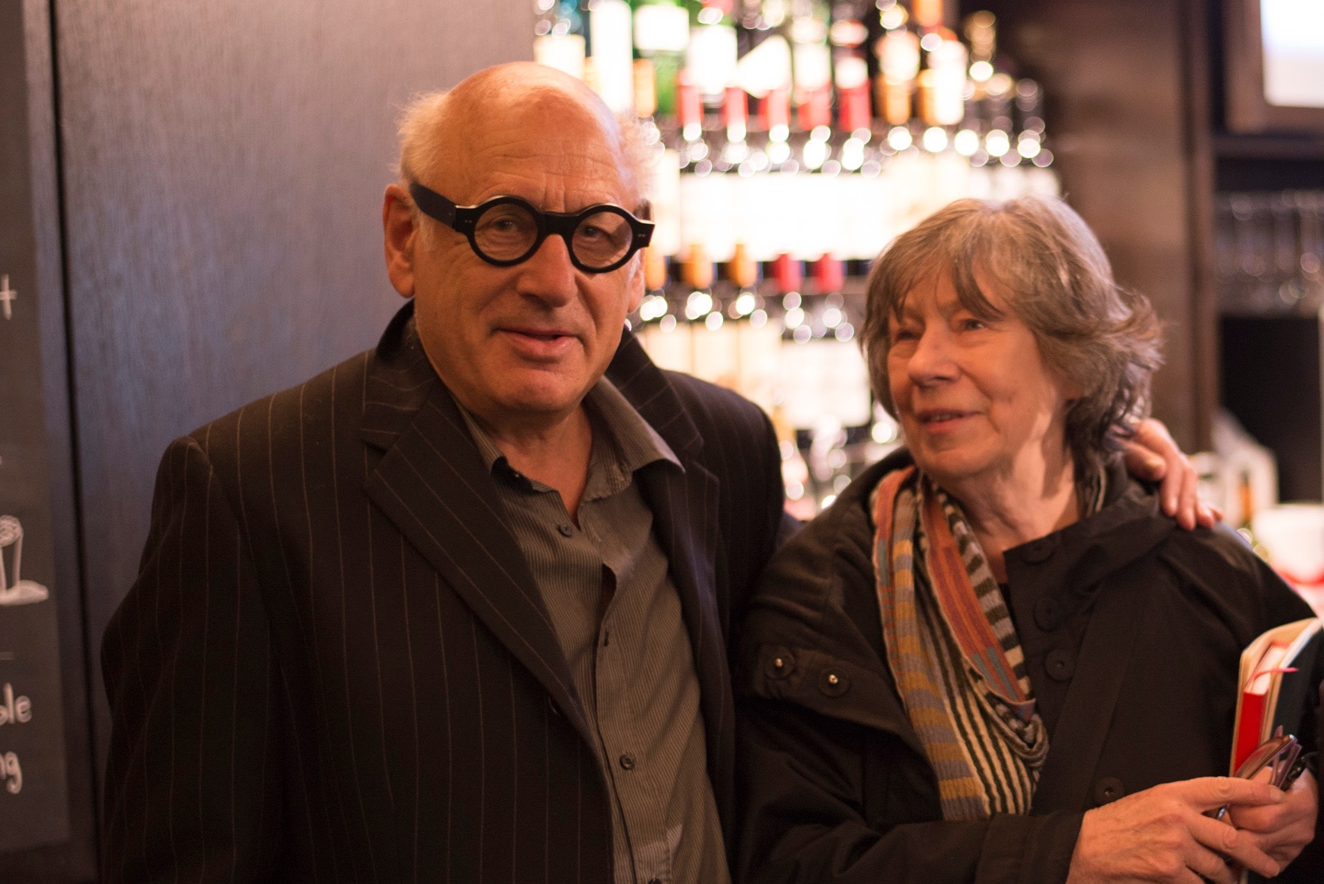 Michael Nyman and Laura Mulvey