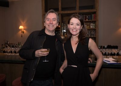 Nick James and Justine Waddell at the Kino Klassika screening of Kira Muratova's Brief Encounters