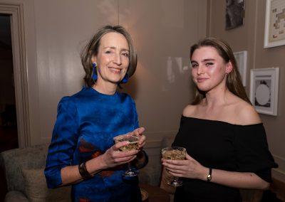 Francine Stock and Florence Darlington at the Kino Klassika screening of Kira Muratova's Brief Encounters
