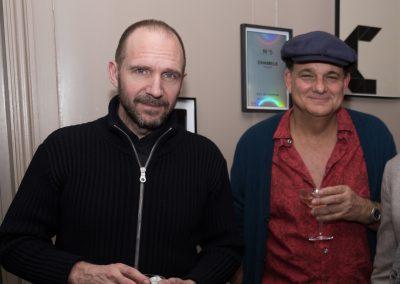 Ralph Fiennes and Gerry Fox at the Kino Klassika screening of Kira Muratova's Brief Encounters