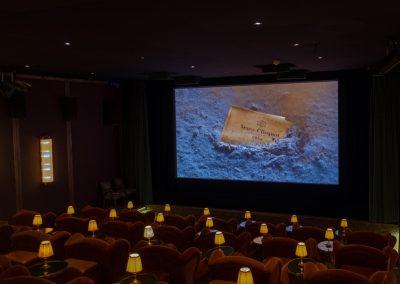 Sponsor Veuve Clicquot at the Kino Klassika screening of Kira Muratova's Brief Encounters